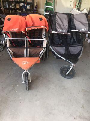 Bob strollers duallie double strollers for Sale in Clovis, CA
