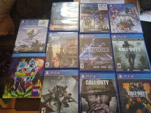 PlayStation 4 games different prices for Sale in San Diego, CA