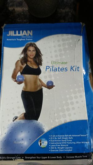 Exercise ball with weights for Sale in Pasadena, TX