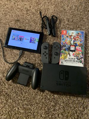 Nintendo switch with game for Sale in Reynoldsburg, OH