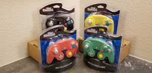 4 Gamecube Controllers - 4 colors (Bundle) NEW for Sale in Plano, TX