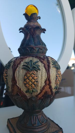 Pineapple decorative accent figure for Sale in Kissimmee, FL