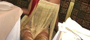 Gold sequin dress for Sale in Philadelphia, PA