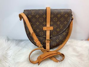 100% Authentic Louis Vuitton Monogram Vintage Chantilly GM Crossbody Bag. Hahahahaha for Sale in Brookfield, WI