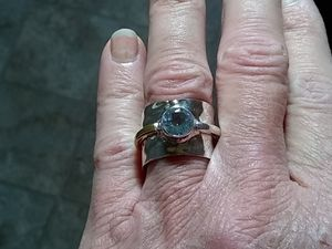 .925 Sterling Silver Ring size 8 for Sale in Gervais, OR