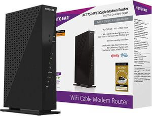ROUTER/CABLE Netgear C6300-AC1750 WI-FI for Sale in Queens, NY