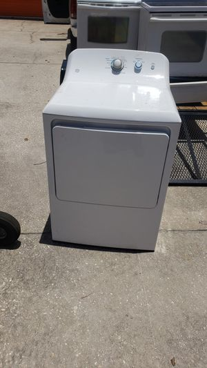 White GE dryer working great delivery available for Sale in Kissimmee, FL