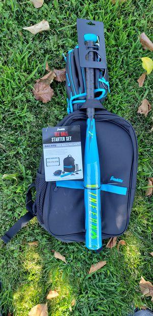 Baseball Tee Ball Starter Set - Bat, Glove, Backpack & Ball BRAND NEW for Sale in Fresno, CA