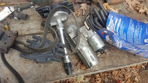 Chevy Van 5.7 parts wires coil starter radiator, distributor GMC for Sale in Meriden, CT