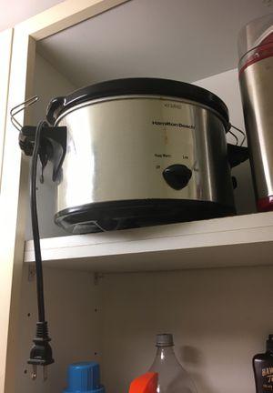 Hamilton beach slow cooker crock pot for Sale in Boston, MA