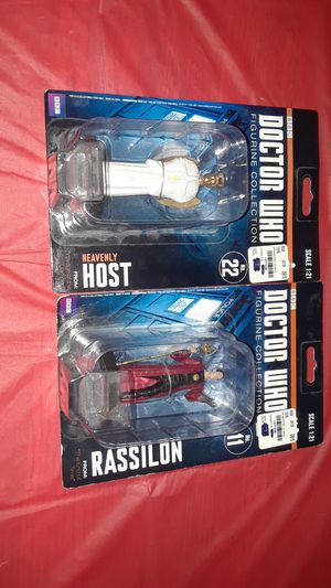 Eaglemoss Collection Set of 2 Doctor Who Figurines for Sale for sale  Houston, TX