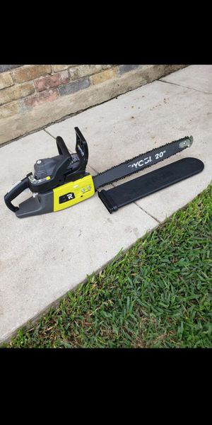 Riobi chainsaw 20 inch. Working Exellent. for Sale in San Antonio, TX