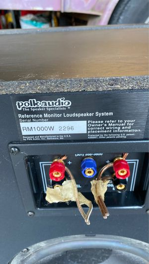 Polk Audio Reference Monitor subwoofer for Sale in Auburn, WA
