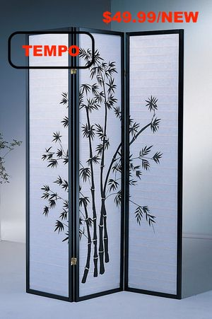 3-Panel Room Divider, Print for Sale in Westminster, CA