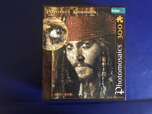 Photomosaics Jack Sparrow Jigsaw Puzzle 300 Pieces from Buffalo Games. for Sale in Madera, CA