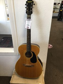 Epiphone Ft-120 6 String Natural Acoustic Guitar 11091146555 for Sale in Sacramento, CA