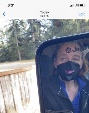 Embroidered Mask Jeep Grill for Sale in Tacoma, WA
