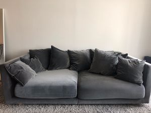 Stockholm 2017 sofa, sandbacka dark gray for Sale in New York, NY