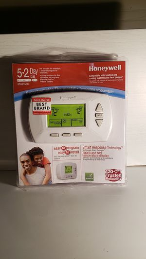 Honeywell 5.0 out of 5 stars1Reviews 5-2 Day Programmable Thermostat for Sale in Pflugerville, TX