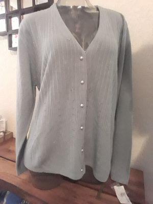 Light grey cardigan for Sale in Henderson, NV