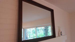 **Beautiful**UTTERMOST BRAND **heavy mahogany antique 30 x 40 wall mirror** for Sale in Birmingham, MI