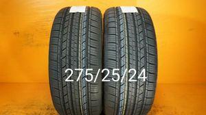 2 New tires 275/25/24 Llantas nuevas for Sale in Chula Vista, CA