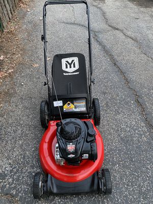 Yard machines push lawnmower in excellent condition starts at first pull for Sale in Darien, IL
