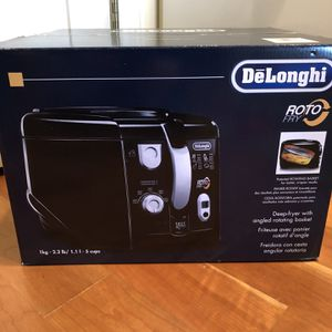 DeLonghi Roto Deep Fryer-black-brand new, unopened box for Sale in Glenview, IL