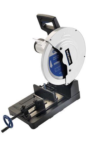 Evolution Power Tools EVOSAW380 15-Inch Steel Cutting Chop Saw for Sale in Sacramento, CA