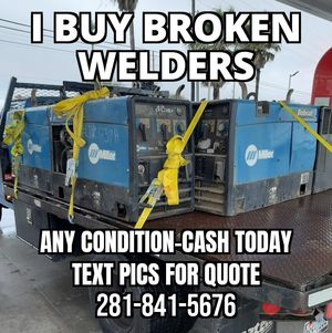 I buy non working welding machines for Sale in Spring, TX