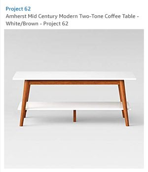 New modern mid century Coffee table for Sale in Fresno, CA