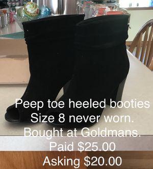 Black boots for Sale in Pekin, IL