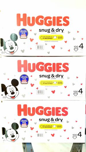 Huggies Snug & Dry 100ct Size 4 for Sale in Orlando, FL
