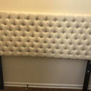 Headboard And Compack Smart Bed Frame for Sale in Fountain Valley, CA