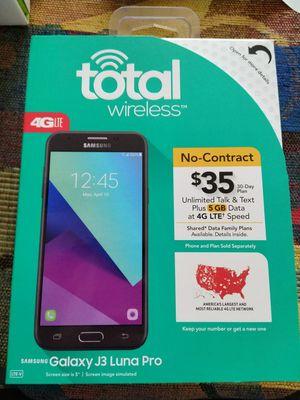 Brand New Total Wireless Samsung Galaxy J3 Luna Pro 4G LTE Smartphone for Sale in Fort Lauderdale, FL