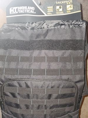 Tactical Backpack (with hooks and loops) for Sale in Round Rock, TX