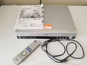 Panasonic DVD Recorder- plays and records off of VHS tapes for Sale in Apple Valley, CA