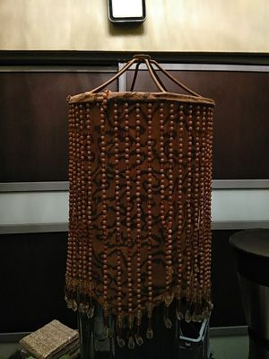 Beaded lamp shade for Sale in Fort Lauderdale, FL