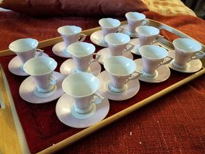 Classic Coffee cups and saucers for Sale in Glendale, CA
