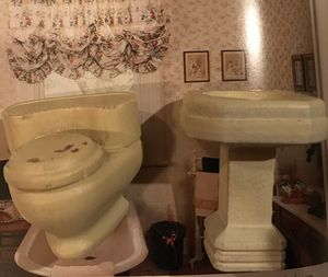"Antique ""strombecker"" wooden Dollhouse Furniture for Sale in Gresham, OR"
