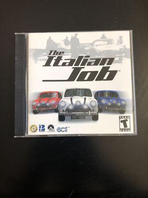 The Italian Job PC CD-ROM Game. Windows 98/ME/2000/XP. for Sale in Phoenix, AZ