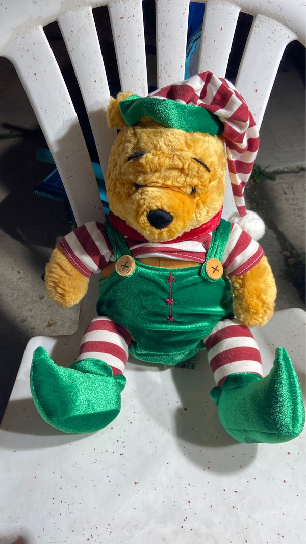 Whine the pool Christmas edition 12 inch plushy
