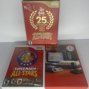 Wii Super Mario All Star. 25th Anniversary for Sale in San Leandro, CA