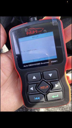 Solo hoy scaner para todo tipo de carros gasolina todos lenguaje en español y si se hace el trabajo no cobro for Sale in Los Angeles, CA