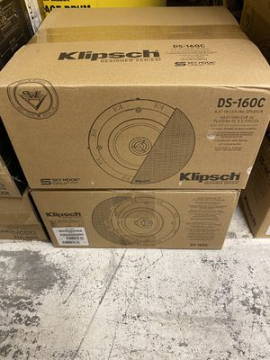 Klipsch DS-160C in ceiling speaker pair - new sewed in box. for Sale in Lakewood, WA