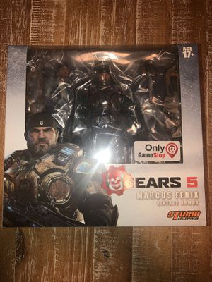 STORM Collectibles Gears Of War Marcus Fenix Action Figure for Sale in Pasadena, TX