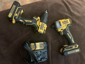 Dewalt—Impact and drill set ~new 20v atomic series brushless for Sale in Mount Dora, FL