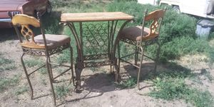Kitchen table 2 chairs for Sale in Delta, CO