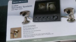 Bunker hill color security system// for Sale in Dallas, TX