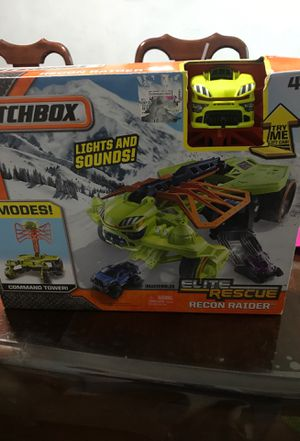 Matchbox elite rescue toy for Sale in San Antonio, TX